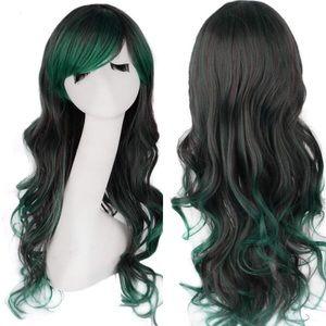 "Accessories - ✨Anaisee 26"" green 2 tone cutesy cosplay wig +NWT*"